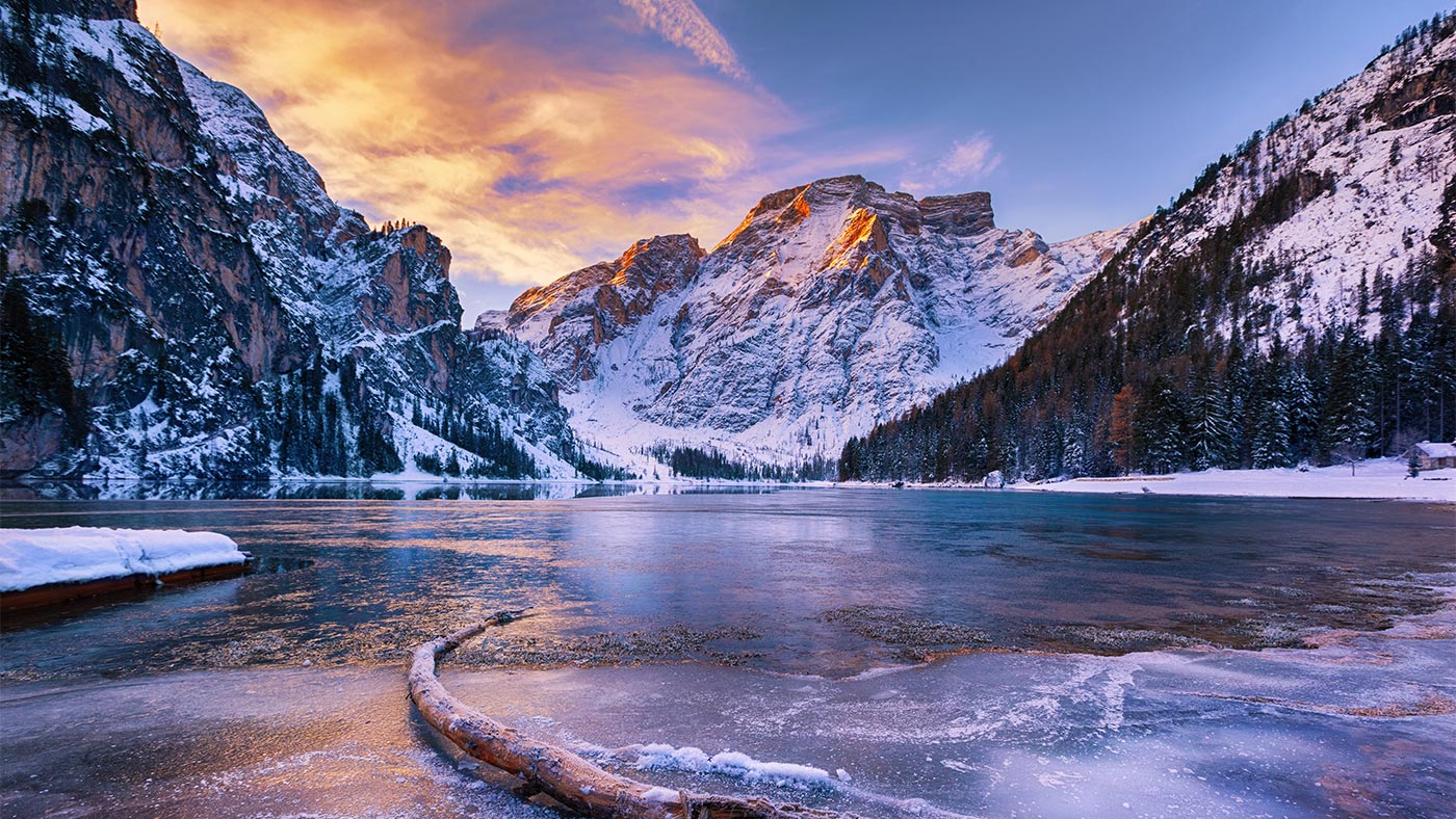 Beautiful ski holidays in the Dolomites
